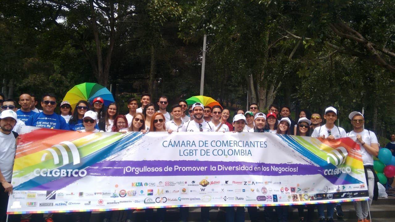 CCLGBT Colombia Marchó Para Promover La Diversidad En Los Negocios
